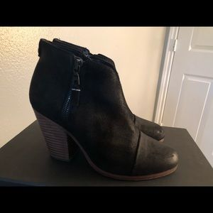 Rag and Bone Harrow Booties- Black, Size 37.5